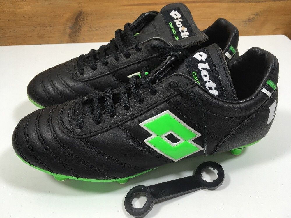 Vintage 1980s Lotto In Stadio football Soccer boots Uk 5 US 6 Eu 38 OG
