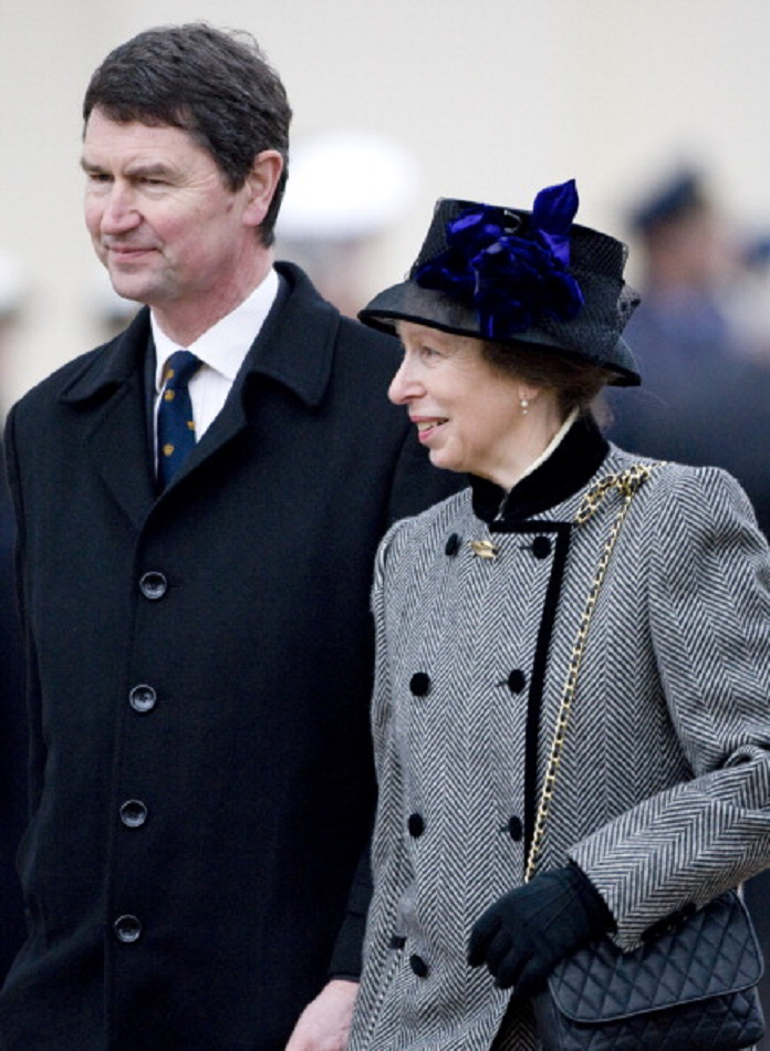 Princess Anne And Tim Laurence Attend The Unveiling Of A
