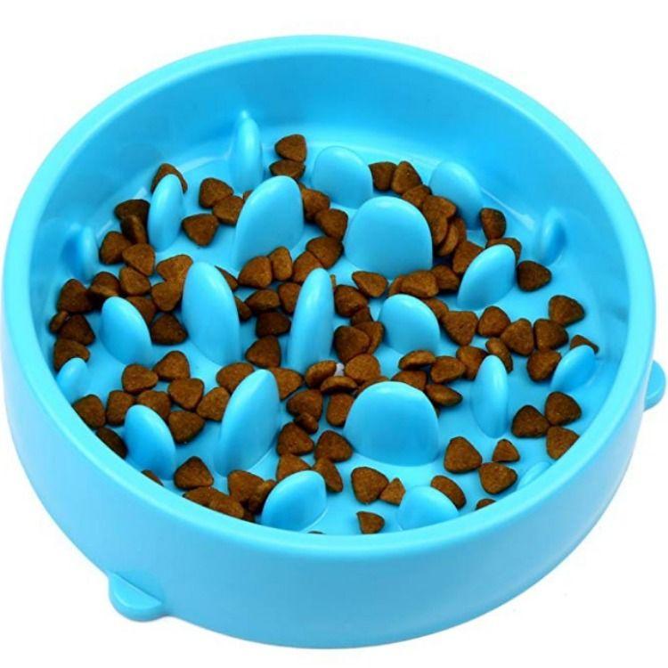 H S Slow Feeder Dog Bowl Slow Eating Dog Bowl Interactive