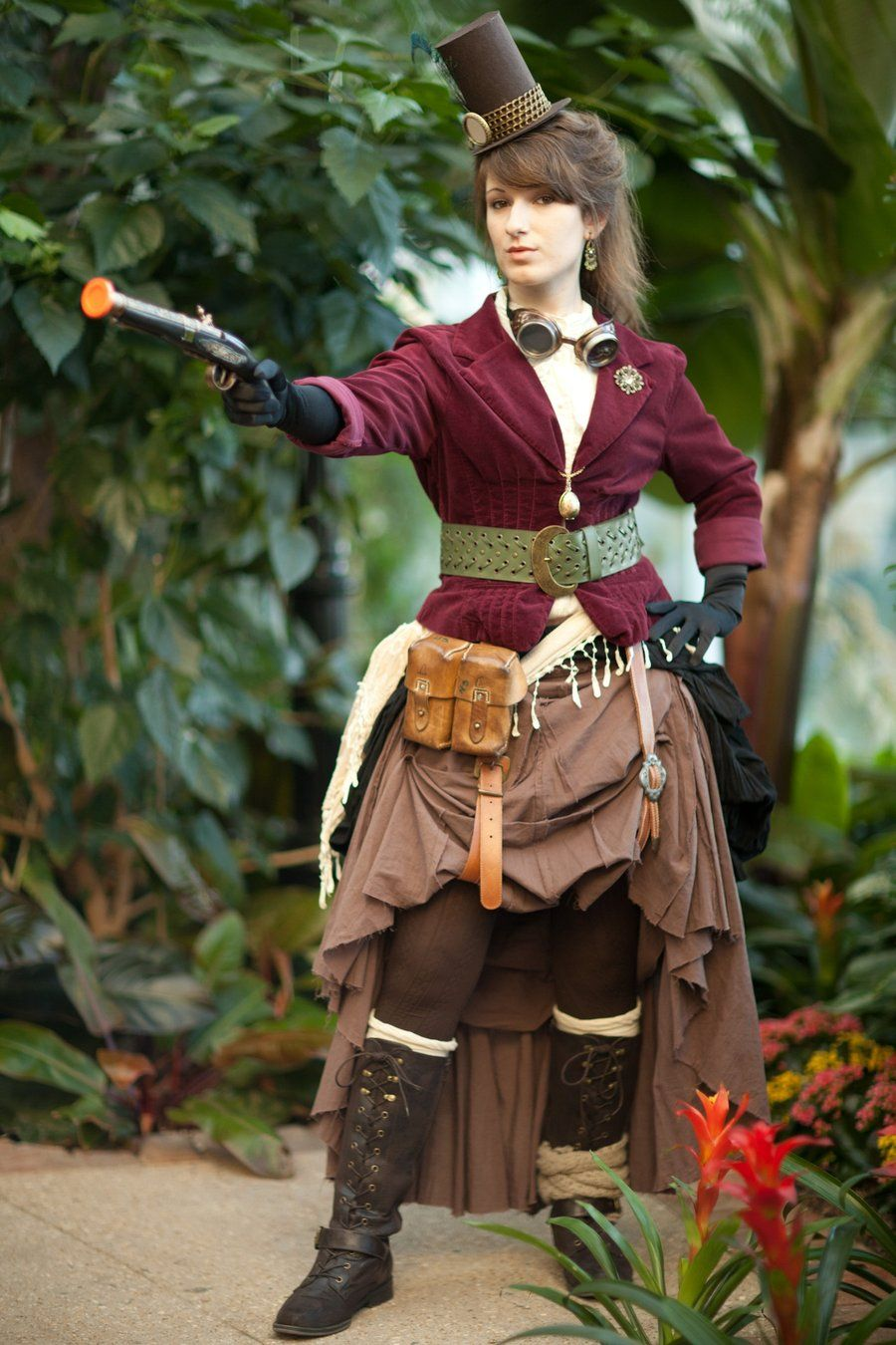 """Steampunk:  """"Steampunk Shoot 8,"""" by ~LadyduLac, at deviantART."""