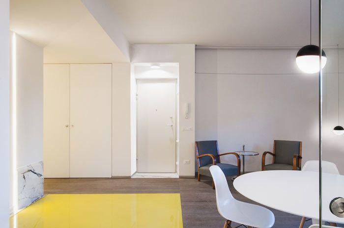 Ristrutturazione casa sul litorale di Roma Camera, Case