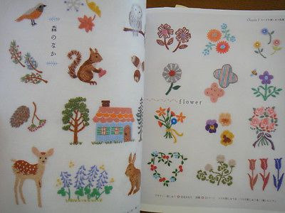Small-and-Cute-Embroidery-Patterns-Japanese-Craft-Book