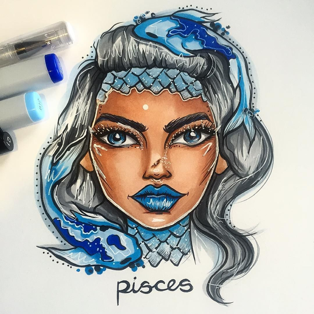 This is an image of Gorgeous Drawing Of Zodiac Signs