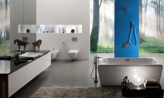 Modern Bathroom Colors for Stylishly Bright Bathroom Design