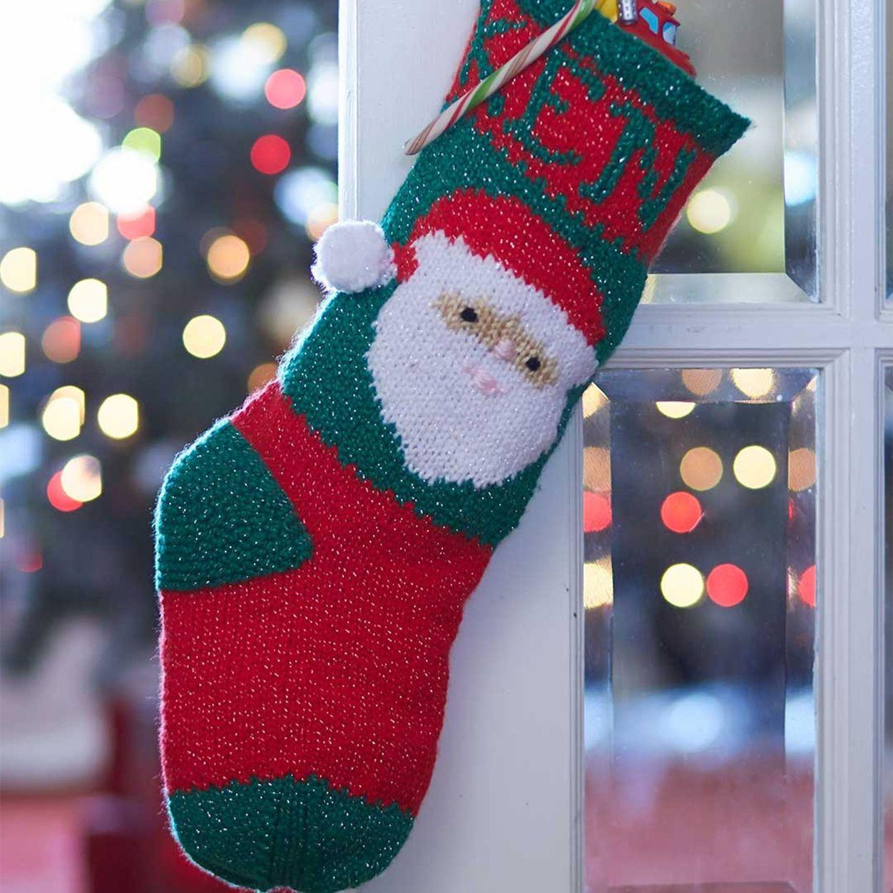 Bernat Santa's Stocking Just for You | Yarnspirations ...