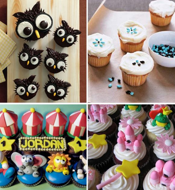 Cupcake Inspirations For A Kids Party With Images Creative