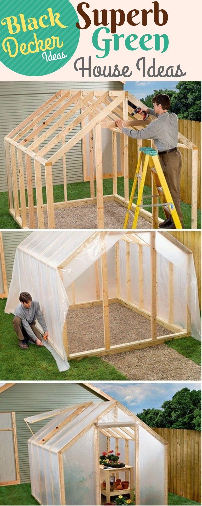 Spacious and Vivacious Green House Ideas DIY Green House