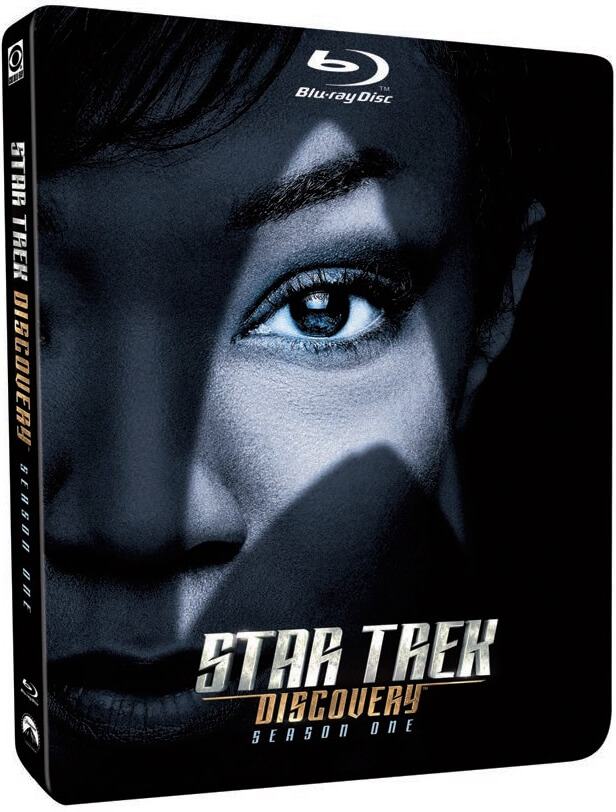 Star Trek Discovery Season 1 Zavvi Exclusive Steelbook Star Trek Star Trek Theme Trek