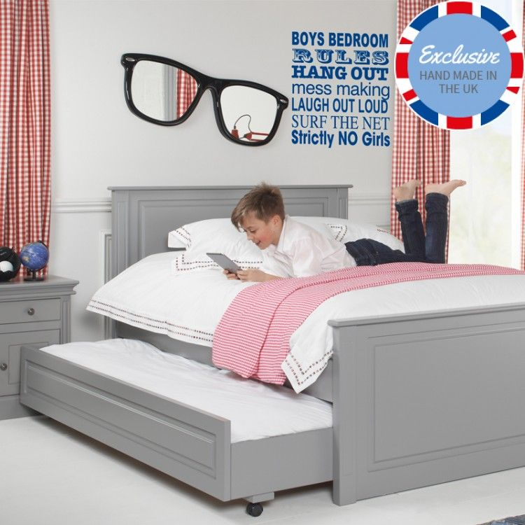 Archie Children S Truckle Bed Cabin Beds For Kids Kids Double Bed Boys Single Bed