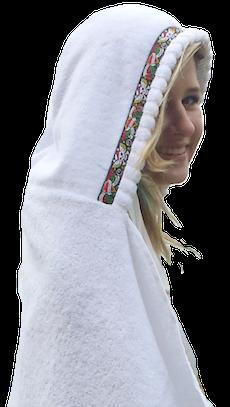 Hooded Towels for Adults   TowelHoodies | Hooded towel diy, Baby