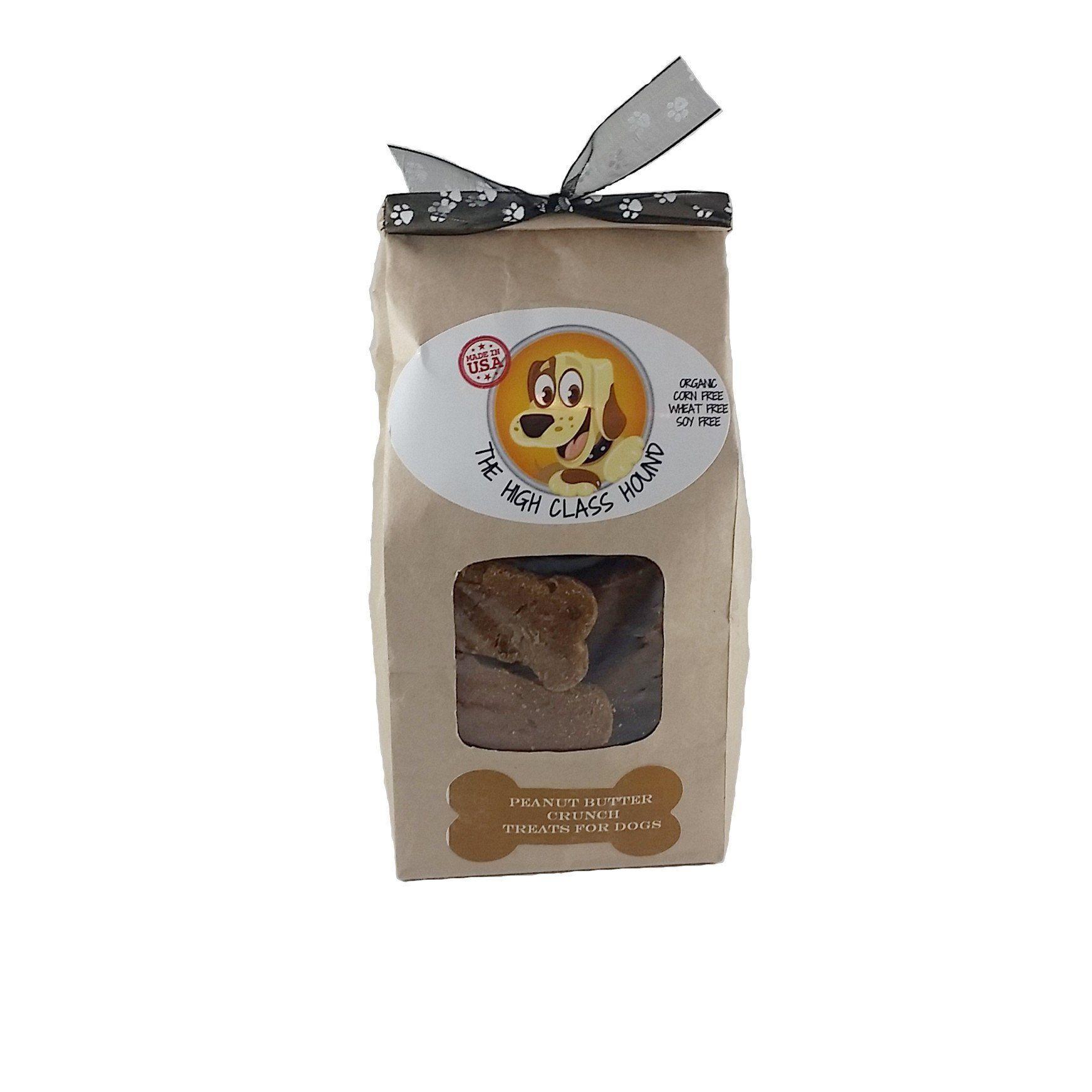 Peanut Butter Crunch Dog Bone Biscuits