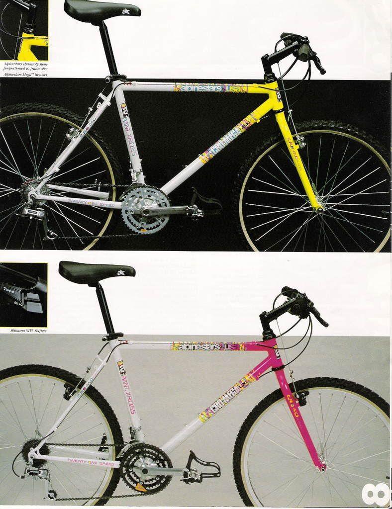 The Ms Racing Alpinestars Story Retrobike Vintage Mountain Bike Classic Road Bike Alpinestars