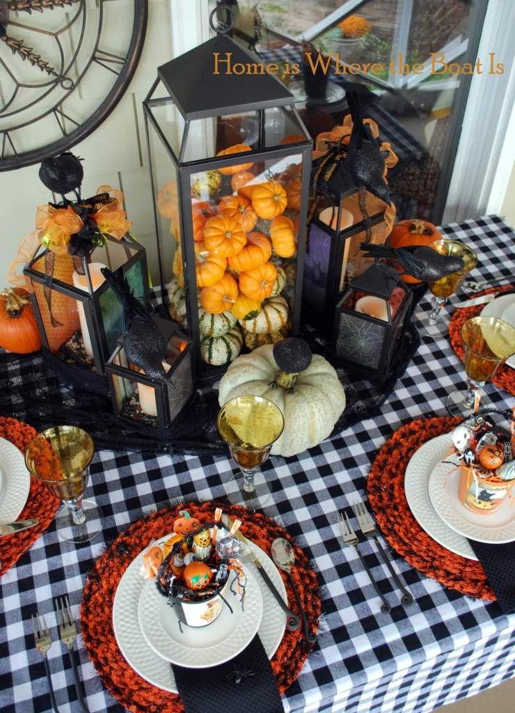 23+ Fun & Spooky Halloween Table Decoration Ideas for 2020