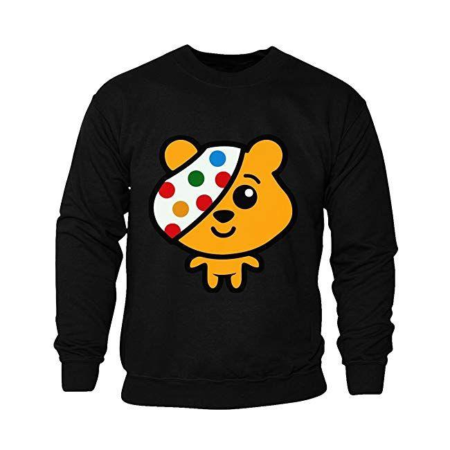 e62422aff263 Kids Unisex Boys Girls Pudsey Bear Children in Need Spots Charity ...