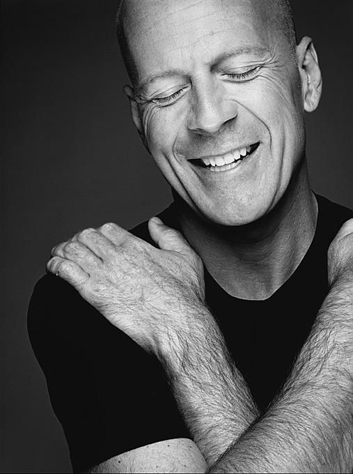Bruce Willis (1955) - American actor, producer and singer. Photo © Nigel Parry