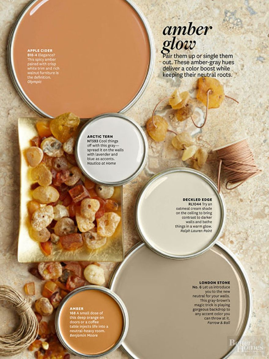 Better Homes And Gardens Amber Glow Bhg Color Palettes