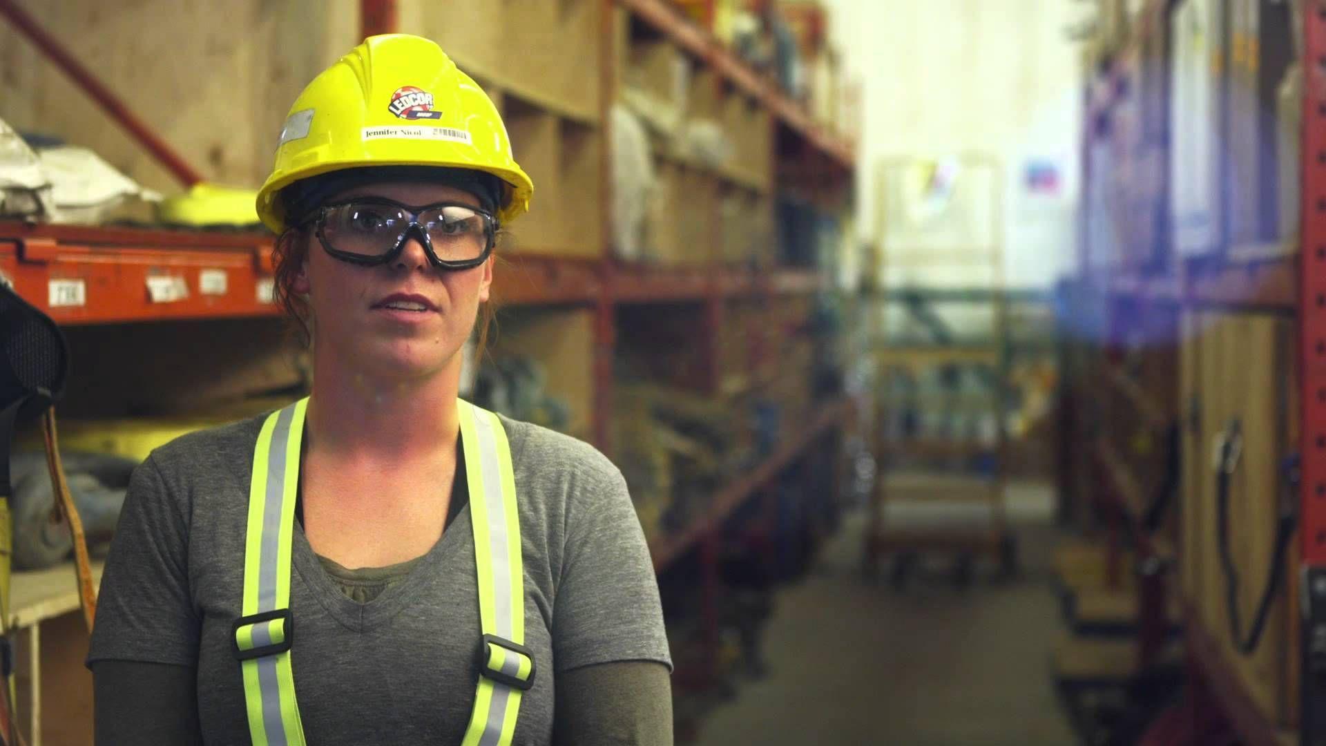 Construction Jobs Jennifer, Apprentice Electrician