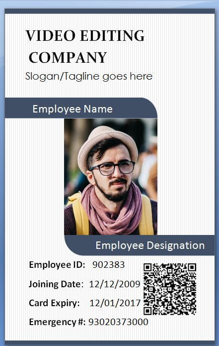 handlerbar employee card template 100 employee card template