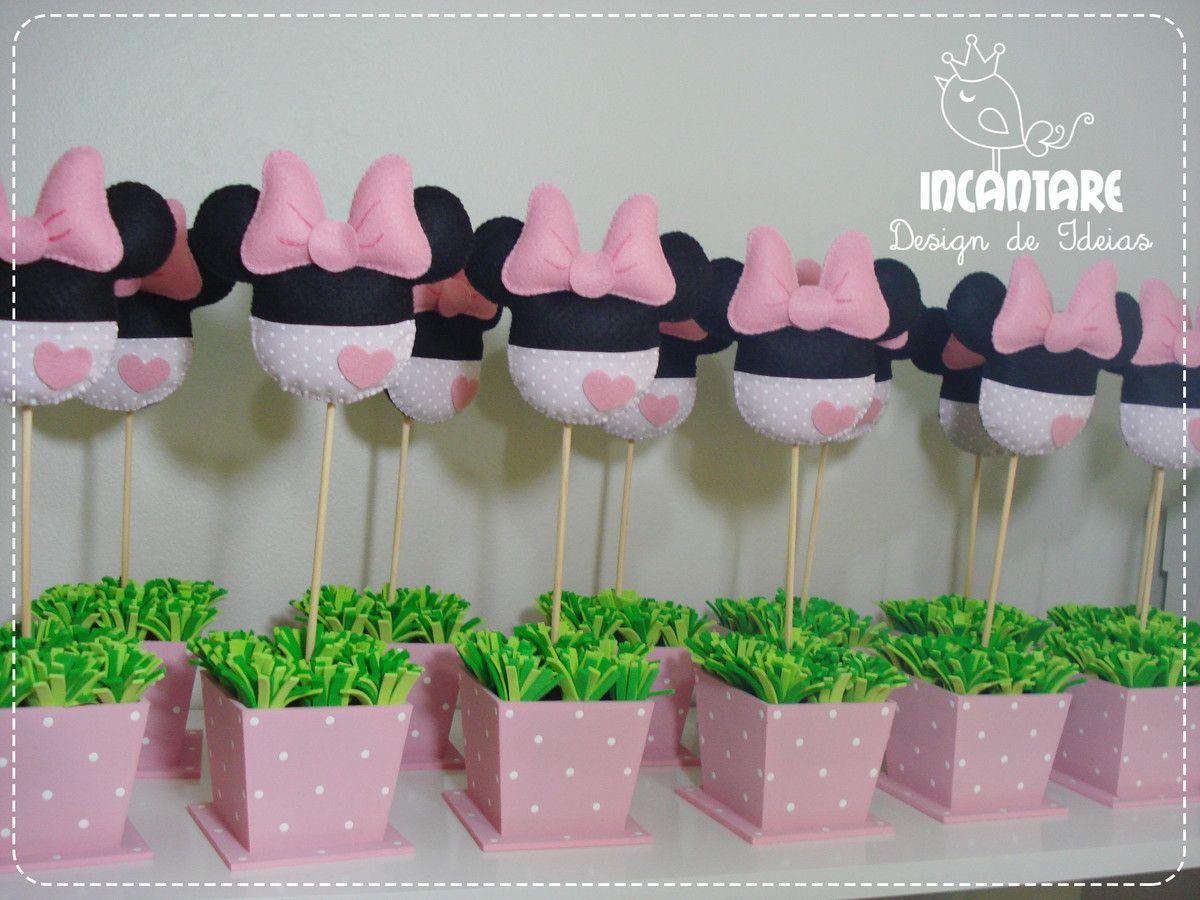 Tavolo Minnie ~ Enfeite de mesa minnie rosa bomboniere feste di compleanno e festa