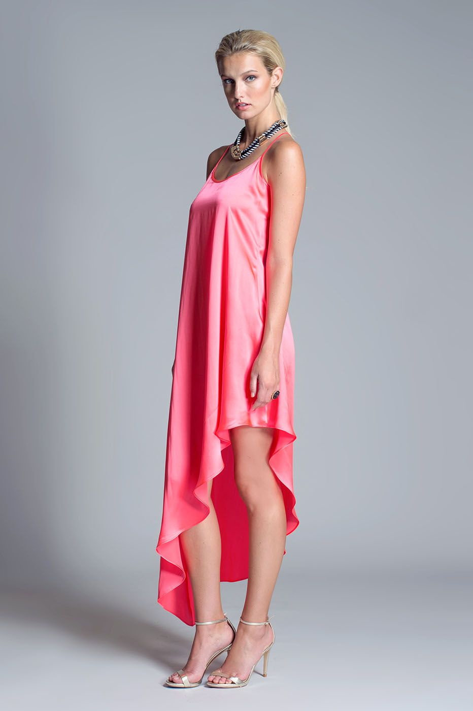 Bethany Dress from Julian Chang. Simple and chic silk dress ...