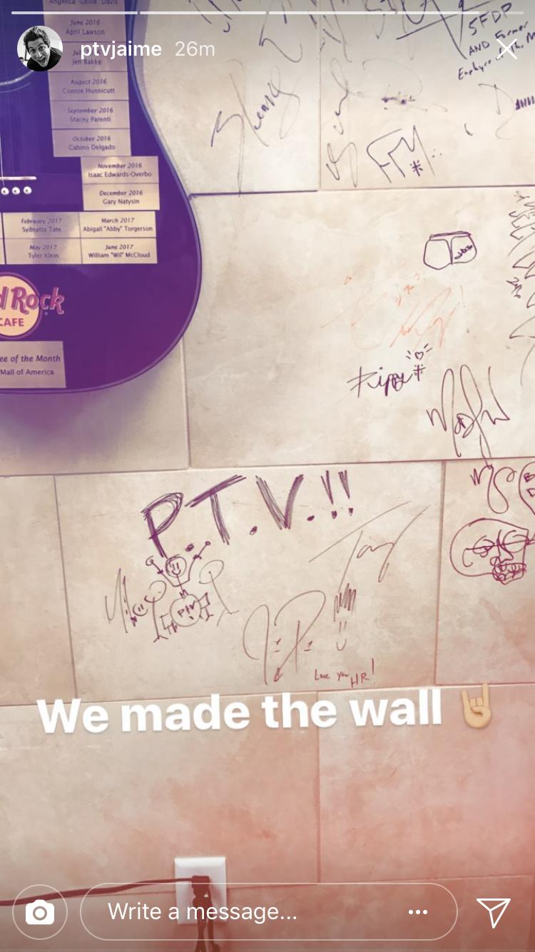 The Wall Pierce The Veil Pinterest Piercing Veil And Screamo
