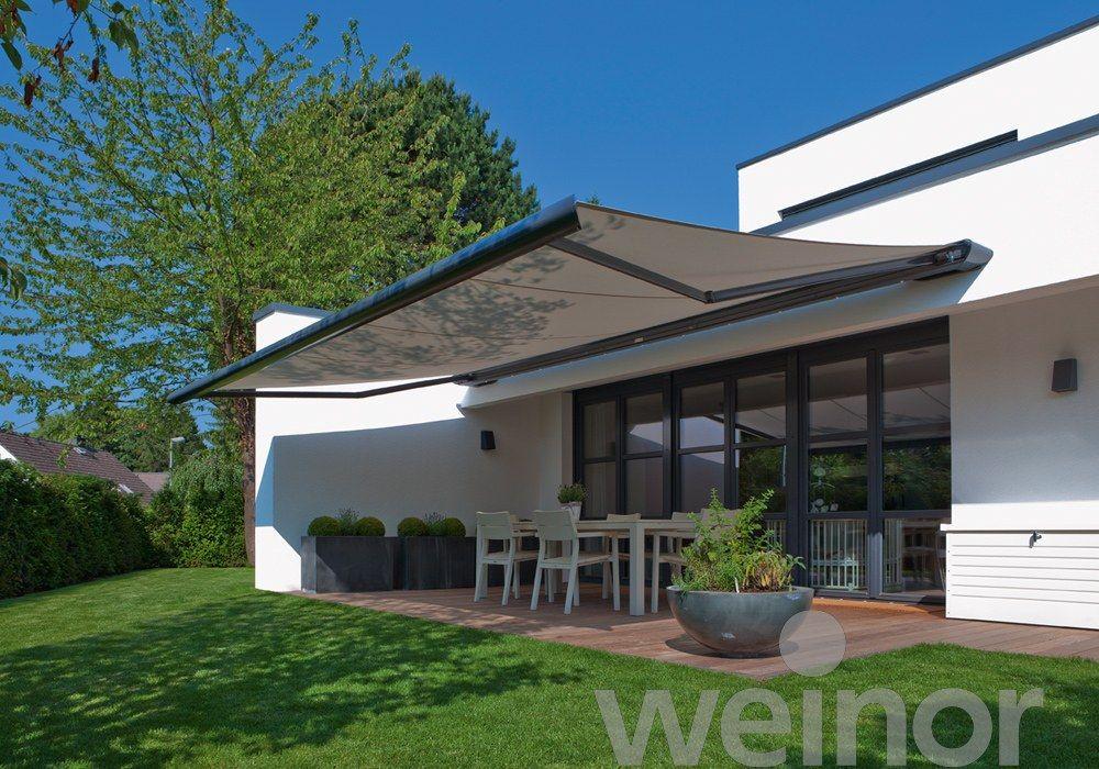 Zenara / LED - weinor Zonneschermen Stores Extérieurs Pinterest - store exterieur veranda prix