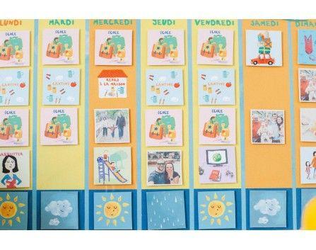 Kit Pour Fabriquer Un Semainier Magnétique Creative Ideas Diy I