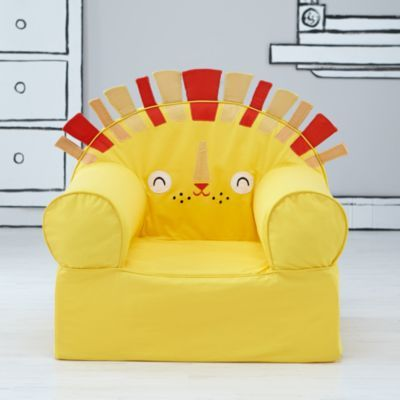 Executive Pet Nod Chair (Lion) / Designed by Michelle Romo / The Land of Nod