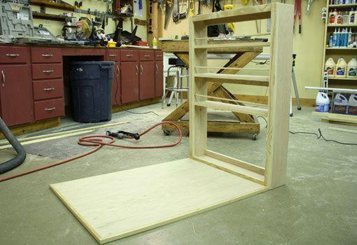 do it how to build a child s wall mounted folding desk studio rh pinterest com