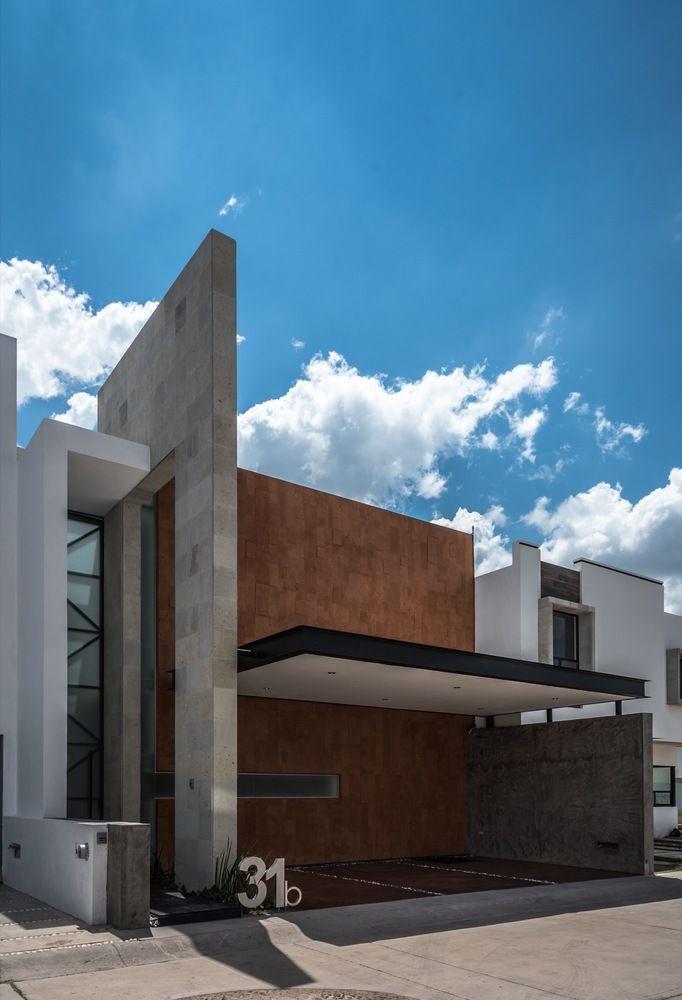 Galer a de casa contadero canocanela arquitectura 1 for Fachadas minimalistas 2016