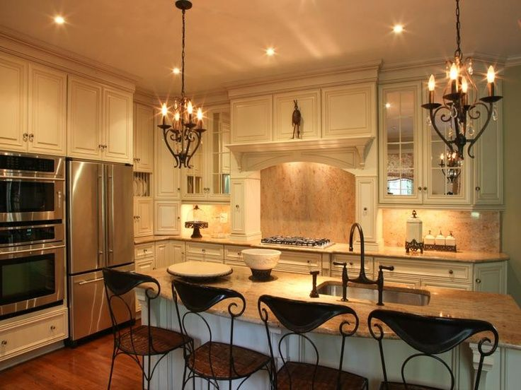 Ideas for Tops of Cabinets | Mirrored top cabinets, gracious aged bronze decorative details and for ...