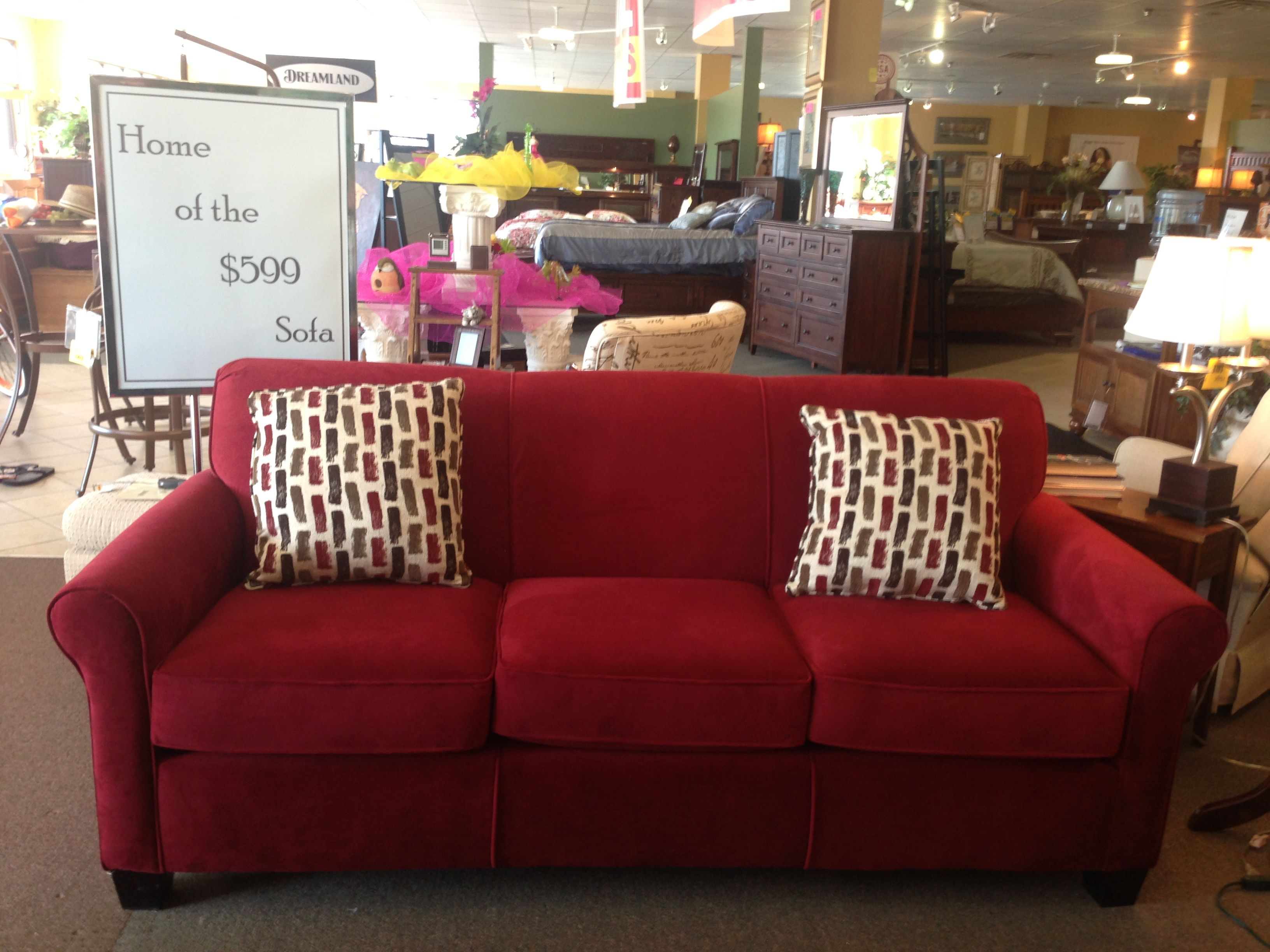 Special One Of Four 599 Sofas In The Store Available In Other