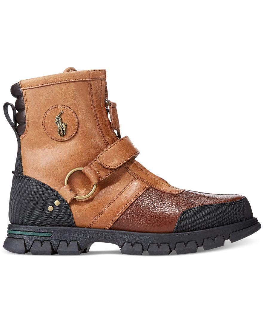 b4d2b947a1c Polo Ralph Lauren Conquest III High Boots - Shoes - Men - Macy's ...