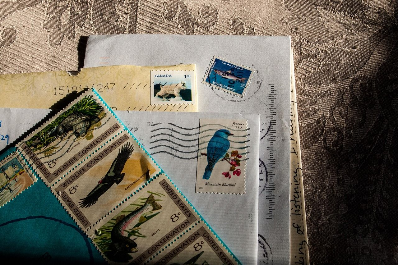 How Many Stamps Do I Need To Send A Letter Or Package In 2020 Stamp Lettering Postage Stamps