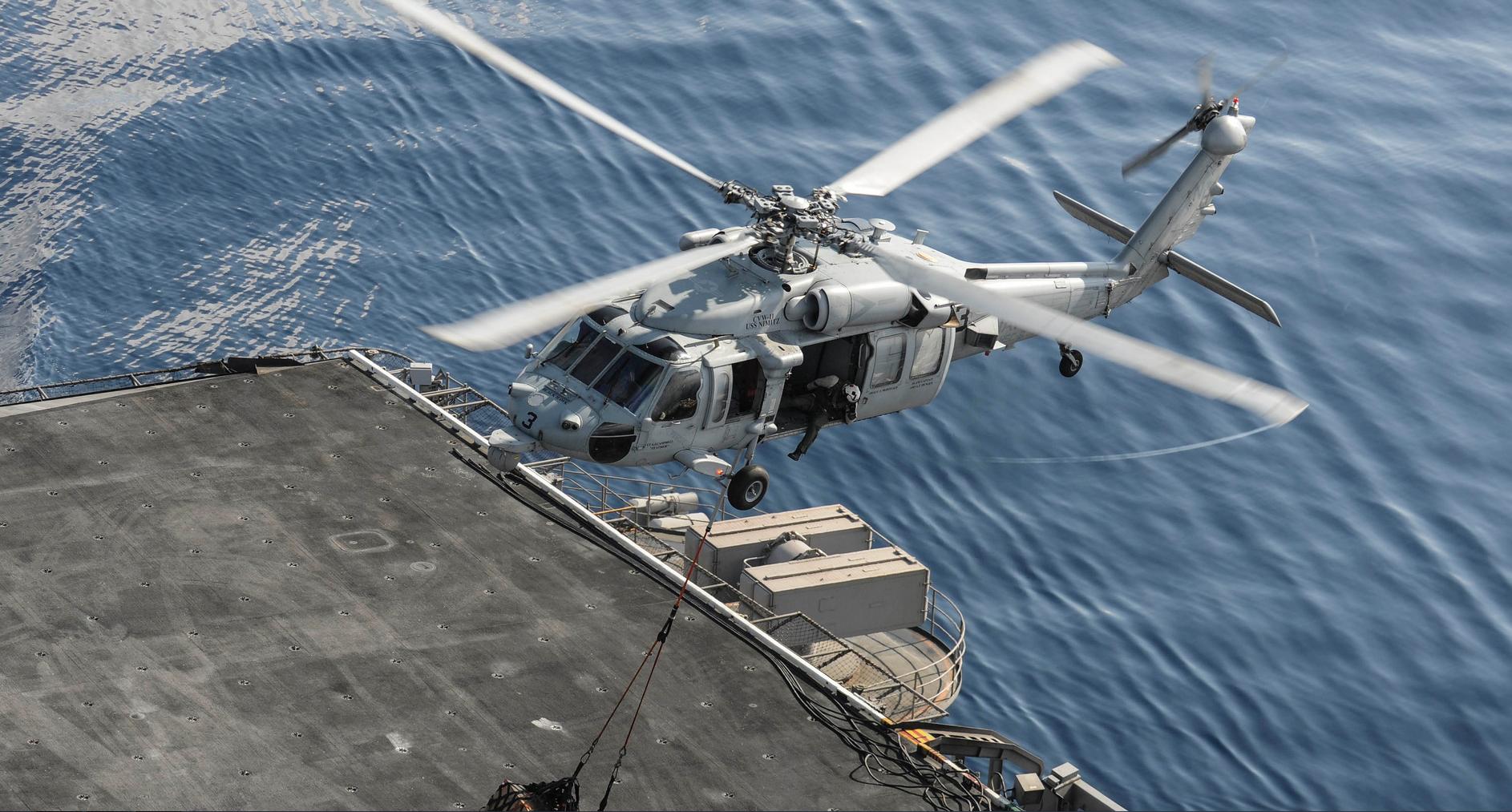 Обои MH-60R, армия, Sea Hawk helicopter. Авиация foto 4