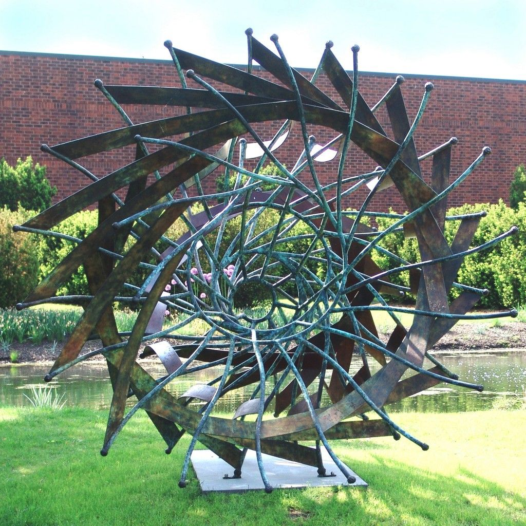 Urchin Bronze 97x106x98 Collection Of Grounds For Sculpture