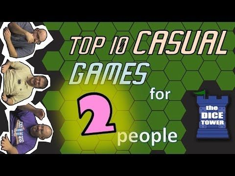 Top 10 Casual Two Player Games - YouTube