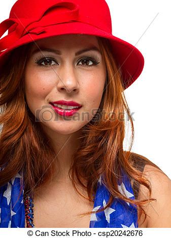 Stock Photo - Female Wearing Hat and Scarf - stock image, images, royalty free photo, stock photos, stock photograph, stock photographs, picture, pictures, graphic, graphics
