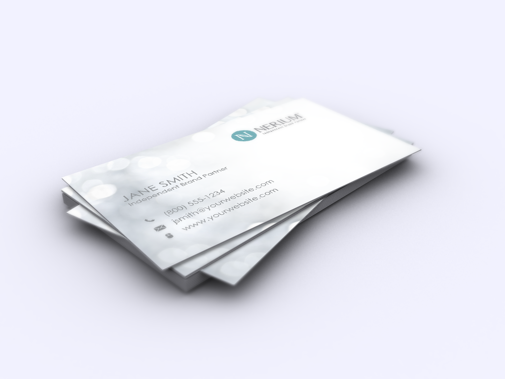 Nerium Brand Partners Let S Update Your Branding Mlm Nerium Print Paper Graphicdesign Busines Printing Business Cards Free Business Cards Contact Card
