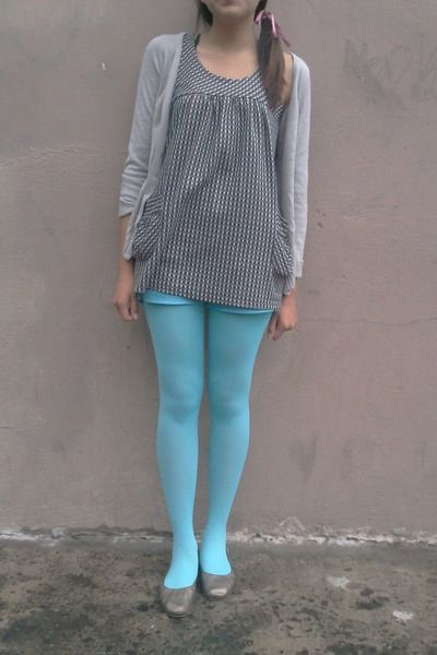 Sky Blue Stockings