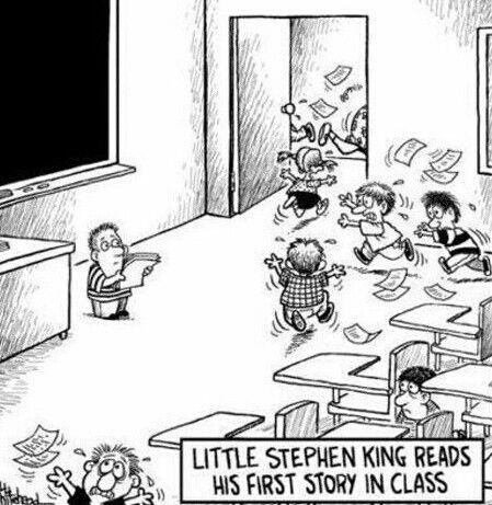 I love Stephen King..... :-)