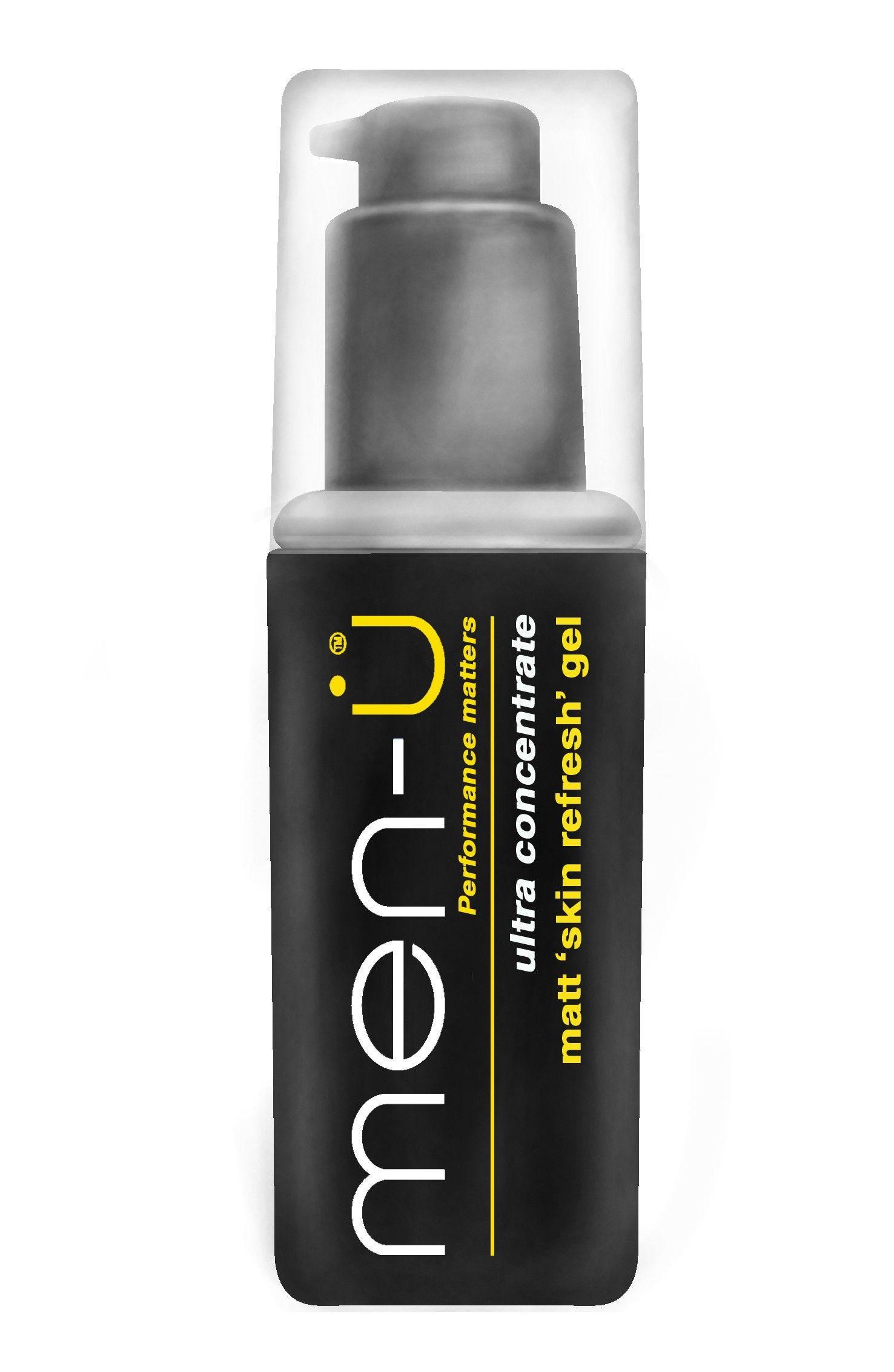 Men U Matt Skin Refresh Gel 100ml Hair Scalp Shampoo Scalp Shampoo Skin Gel