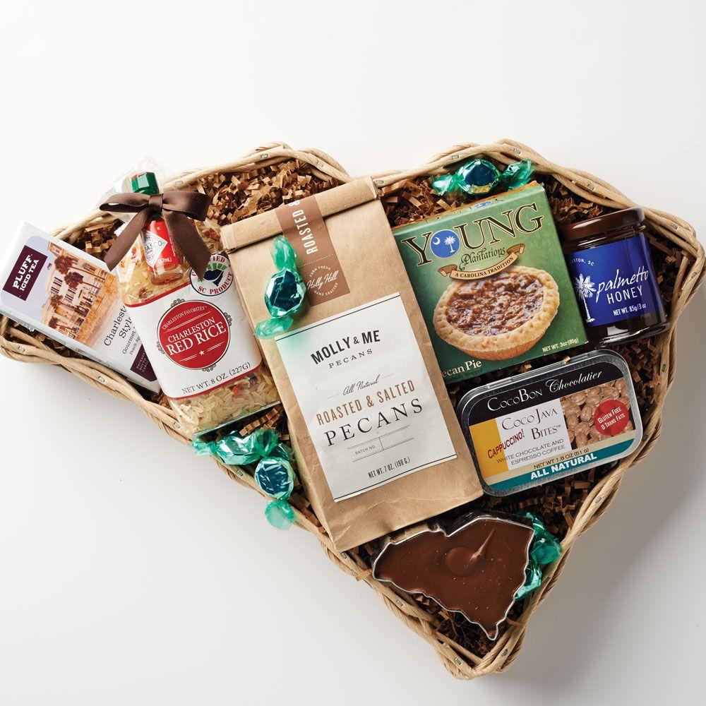 South Carolina Shaped Gift Basket - Gifts u0026&; Gift Baskets. Roasted Salted Pecans & South Carolina Shaped Gift Basket - Gifts u0026 Gift Baskets. Roasted ...