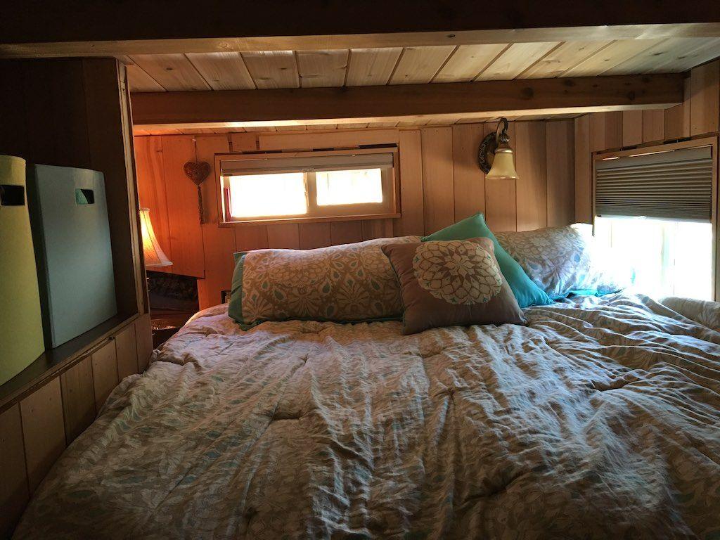 This Is Livin' Tiny House Tiny house bedroom, Tiny house