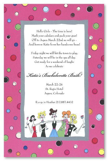 Girls Night Invitation Wording Kids Birthday Invitations Girls