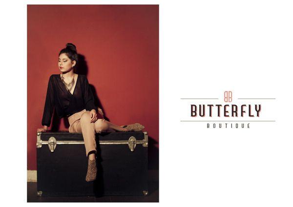 """Lookbook FW 2013 - Butterfly Boutique"" by Job Diaz, via Behance"