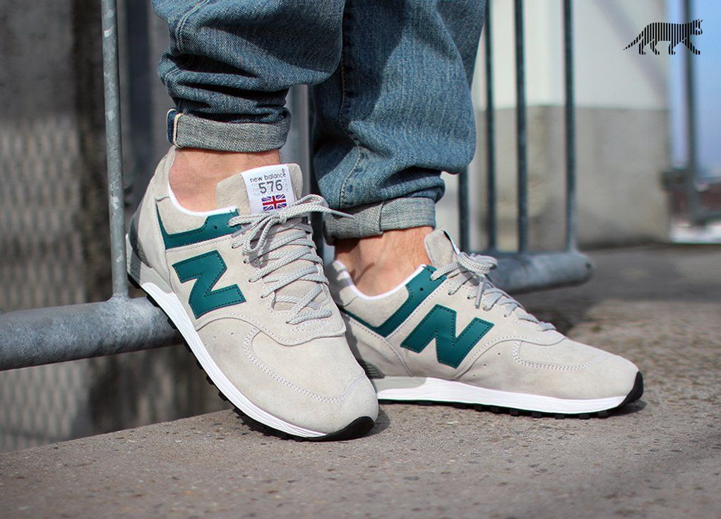New Balance m576pgt *Made in UK* (Grey / Teal)