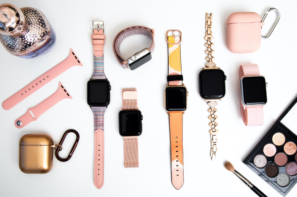 fashion forward Apple Watch straps for less than