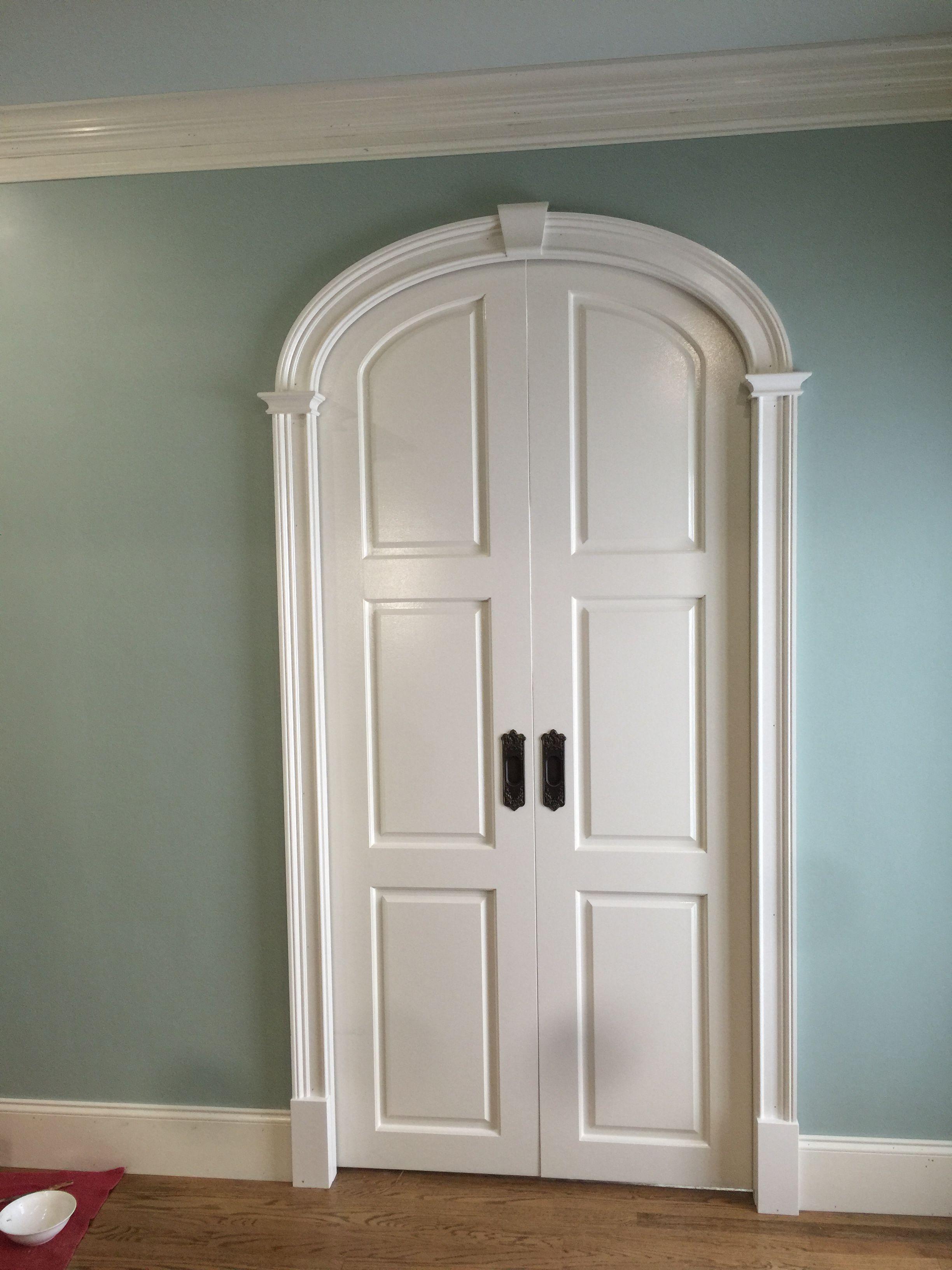 Arch Pocket Doors Prefab Kit Www Curvemakers Com