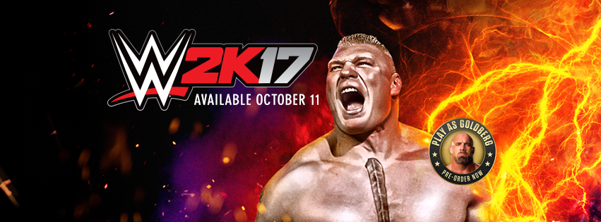 'WWE 2K17' Roster Cover Athlete Is Brock Lesnar; Release